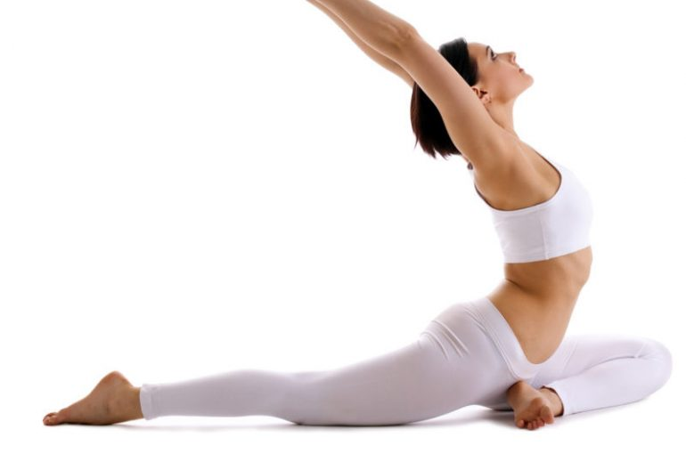 Stretching dei muscoli dopo l'allenamento