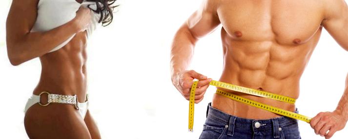 Grasso corporeo che brucia nel bodybuilding